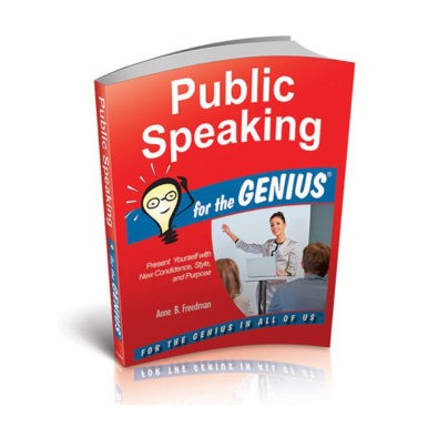 Public Speaking for the Genius