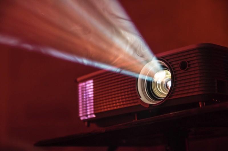 Projector-presentation-visulas