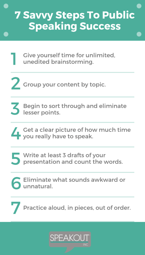 7 Public Speaking Tips