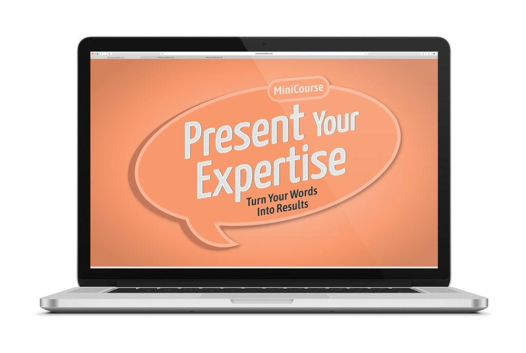 Present Your Expertise miniCourse Logo