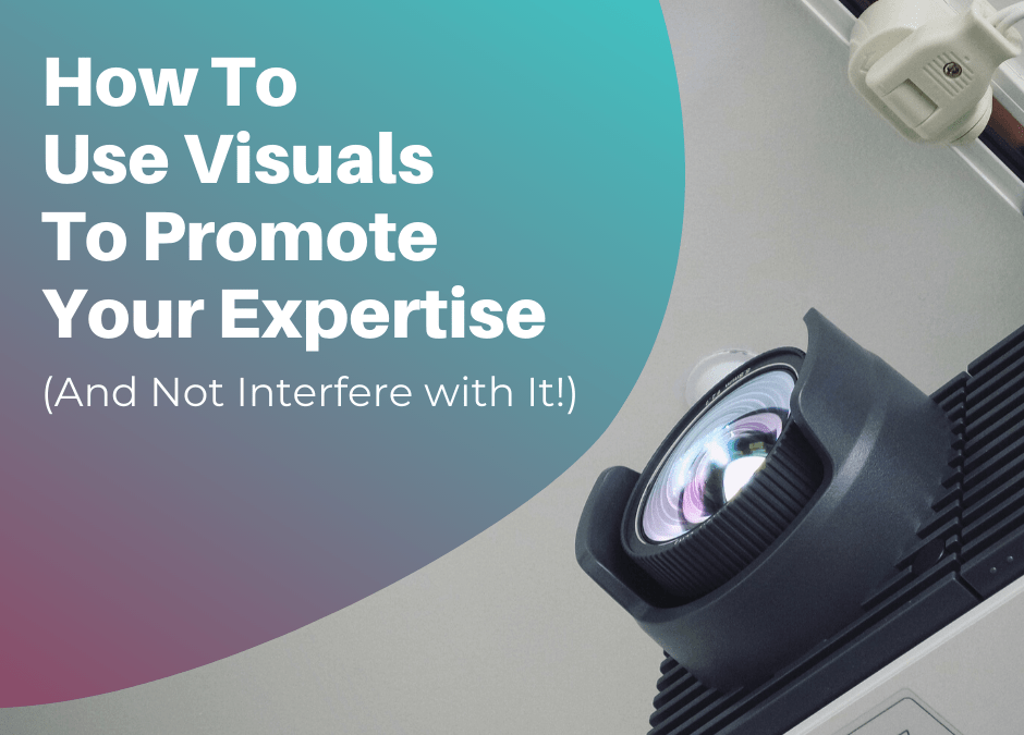 How to use visuals in a presentation