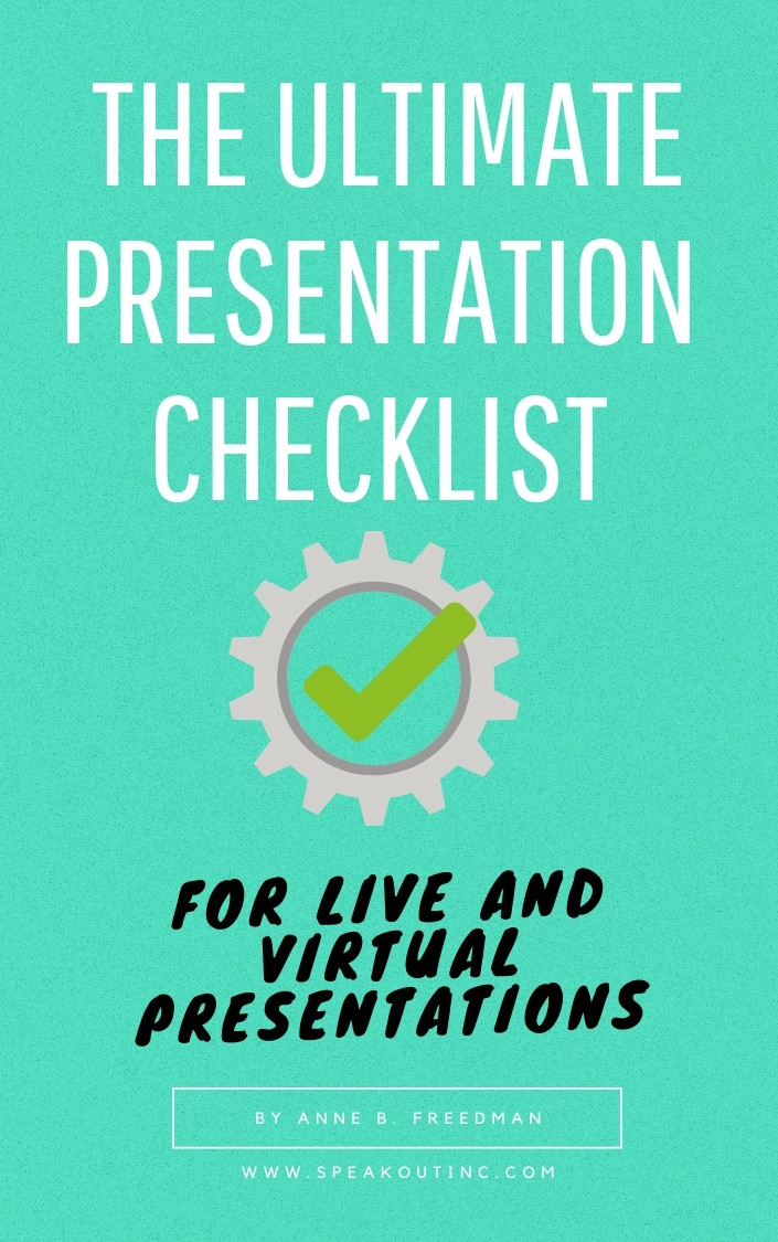 The ultimate presentation Checklist 2020 ready